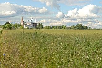 Kovrovsky District - Church of Our Lady of Kazan, village Malyshevo, Kovrovsky