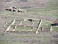 """Останки от крепост """"Калето"""" основи от далеч.jpg"""