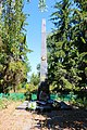 Пам'ятник 183 воїнам – односельчанам, загиблим на фронтах ВВВ Некрасове біля школи.JPG