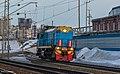 ТЭМ18ДМ-407, Россия, Новосибирская область, станция Новосибирск-Главный (Trainpix 162725).jpg