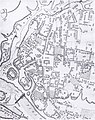 Цэнтральная зона Гродна на плане 1795 г. (РДВГА).jpg