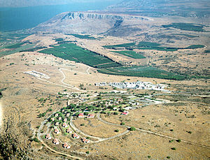 Ravid - Kibbutz Ravid and Mount Arbel
