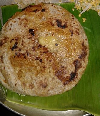 Cuisine of Karnataka - Obbattu (holige)