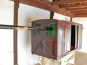 Transport in India - An old Palanquin used in Kerala