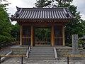 久米寺山門 Temple gate of Kume-dera 2013.6.24 - panoramio.jpg