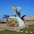 旗魚雕塑 Sailfish Sculpture - panoramio.jpg