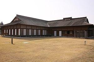 Ne Castle - Reconstructed palace structure of Ne Castle