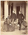 -The Countess Canning, The Earl Canning, G.G. and Lord Clyde C.in C., Simla- MET DP146074.jpg