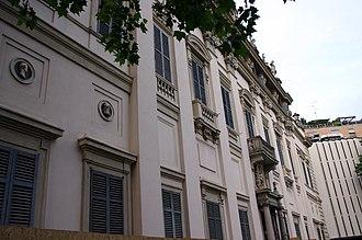 Benedetto Alfieri - Image: 0654 Milano Palazzo Sormani Retro Foto Giovanni Dall'Orto 5 May 2007