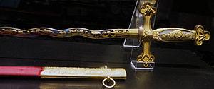 Musée de la Franc-Maçonnerie - La Fayette sword.