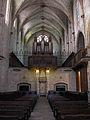 093 Santa Maria de Pedralbes, nau i orgue.jpg