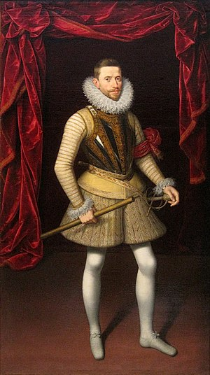 Siege of Calais (1596) - Archduke Albert, Governor-General of the Spanish Netherlands, by Frans Pourbus.