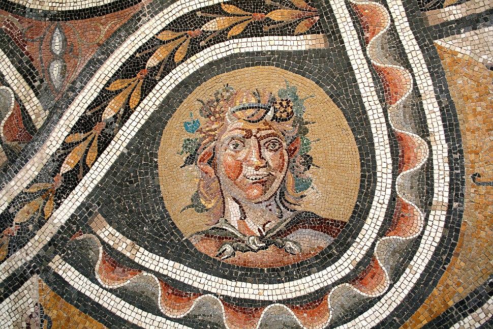 0 Mosaïque - Buste de Satyre - Palazzo Massimo