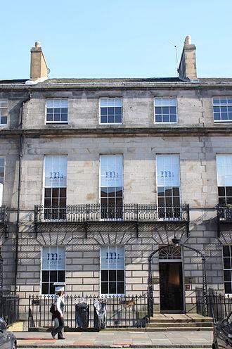 John Campbell Colquhoun - 10 Melville Street, Edinburgh