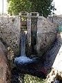 113 Resclosa del canal d'Urgell, vora la Farinera (Mollerussa).JPG
