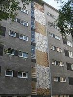 1170 Hernalser Hauptstraße 98 Hof - Mosaik Abstrakte Komposition von Walter Eckert 1967 IMG 4552.jpg