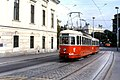 124R10221084 Lerchenfelderstrasse, Strassenbahn Linie 46, Typ C1 155.jpg