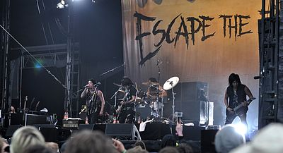 Picture of a band or musician: Escape The Fate