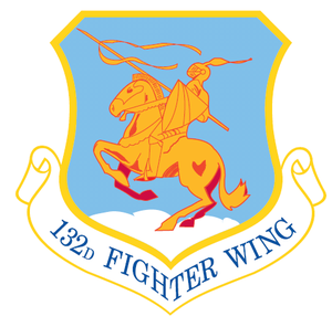 Des Moines Air National Guard Base - Image: 132d Fighter Wing