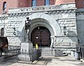 14th Regiment Armory memorial and entrance.jpg