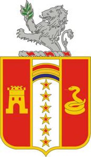 150th Field Artillery Regiment - Image: 150FARegt DUI