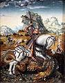 1512 Meister des Döbelner Hochaltars Hl. Georg zu Pferde anagoria.JPG