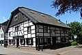 Half-timbered semi-detached house