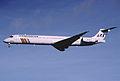 158ct - Scandinavian Airlines MD-82, LN-RMA@LHR,27.10.2001 - Flickr - Aero Icarus.jpg