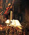 1669 Heyden Stilleben mit Gobelinvorhang anagoria.JPG