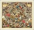1708 celestial chart - Haemisphaerii Borealis Coeli et Terrae Sphaeri Cascenographia.jpg