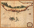 1727 Map of Formosa-Taiwan by the Dutch 荷蘭文福爾摩沙-臺灣地圖.jpg