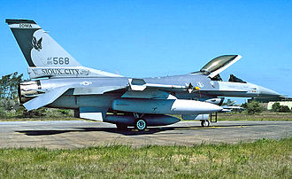 174th Air Refueling Squadron - 174th Tactical Fighter Squadron F-16C 85-568