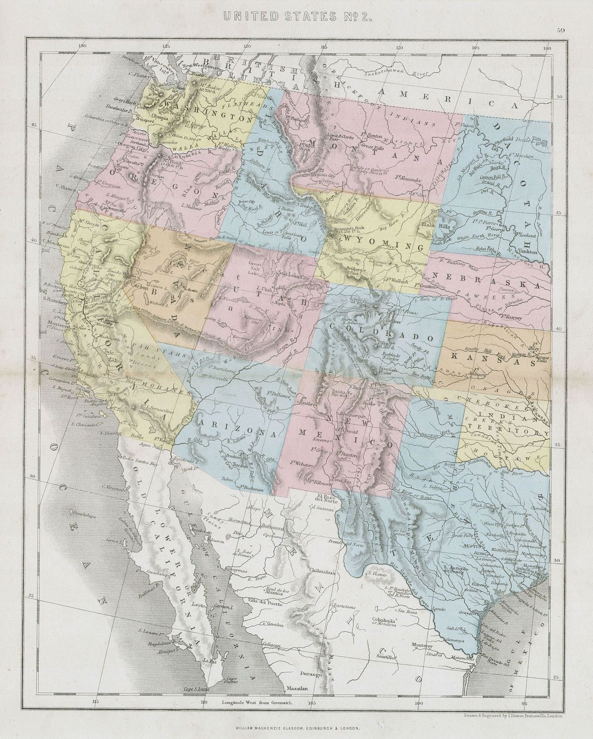 Timeline Of The American Old West Wikipedia - 1800s us mid western states maps