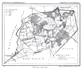 Ossendrecht plan de 1867
