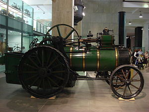 Aveling and Porter - Image: 1871 Aveling and Porter traction engine 01