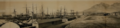 1872 Cape Town Harbour before excavations - Cape Colony.png