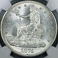 1874-S Trade dollar obverse.jpg