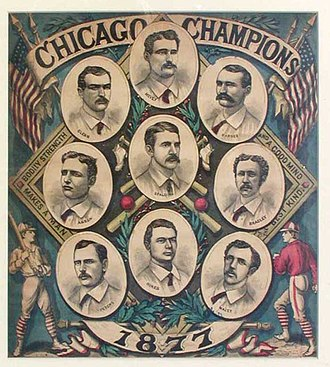 1877 Chicago White Stockings season - The 1877 Chicago White Stockings