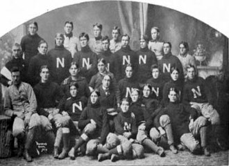 1898 Nebraska Bugeaters football team - Image: 1898 Nebraska Cornhuskers football team