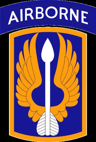 18th Aviation Brigade (United States) - 18th Aviation Brigade shoulder sleeve insignia