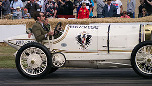 Blitzen Benz - A 1909 Benz 200 Blitzen Benz at the 2015 Goodwood Festival of Speed