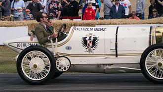 Blitzen Benz - A 1909 Benz 200 Blitzen Benz at the 2015 Goodwood Festival of Speed