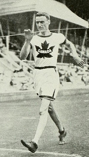 Athletics at the 1912 Summer Olympics – Men's 10 kilometres walk - The winner George Goulding.