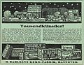 1913 circa Werbung H. Bahlsens Keks-Fabrik Hannover, 1000 Künstler.jpg