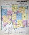 1915 Belleville Fire Insurance Map, Key Plan (36137264525).jpg