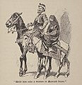 1921, The History of Don Quixote, With him rode a woman in Moorish dress.jpg