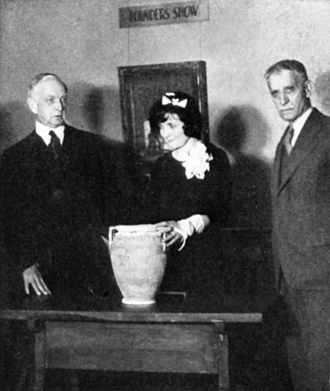 Grand Central Art Galleries - Walter Leighton Clark, Helen Holt Hawley, and Bruce Crane at the Grand Central Art Galleries' 1933 members' drawing.