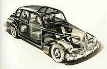 1942 Nash Ambassador X-ray