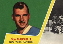 Description de l'image 1963 Topps Don Marshall.jpg.