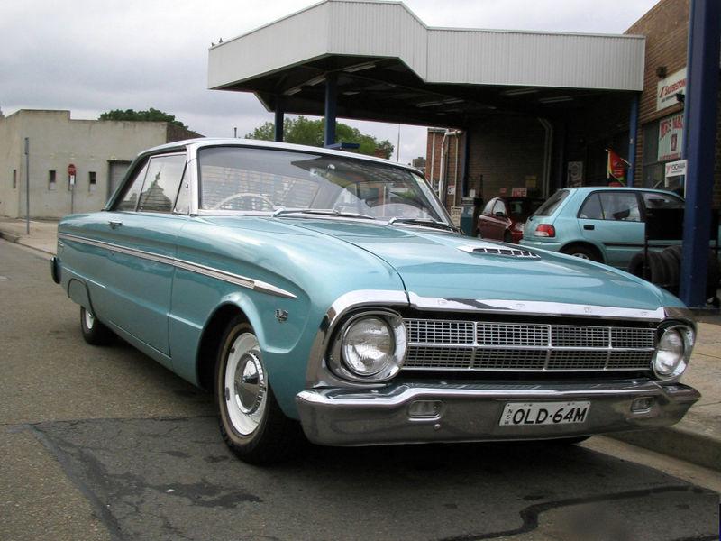 Ford Falcon Australiano y Argentino
